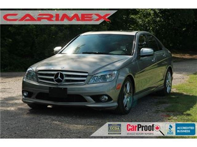 2008 MERCEDES-BENZ C-CLASS ONLY 75K   Navi   Sunroof   Leather   Bluetooth in Kitchener, Ontario