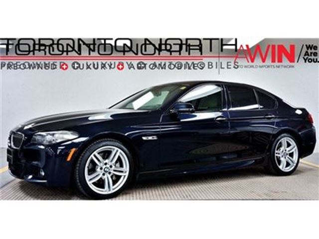 2015 BMW 535D XDRIVE xDrive M SPORT NO ACCIDENT in Toronto, Ontario