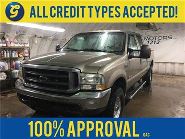 2004 Ford F-250 XLT**AS IS CONDITION AND APPEARANCE***CREWCAB*4WD* in Cambridge, Ontario