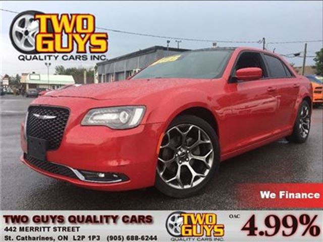 2015 Chrysler 300 S LEATHER NAVIGATION MOON ROOF in St Catharines, Ontario