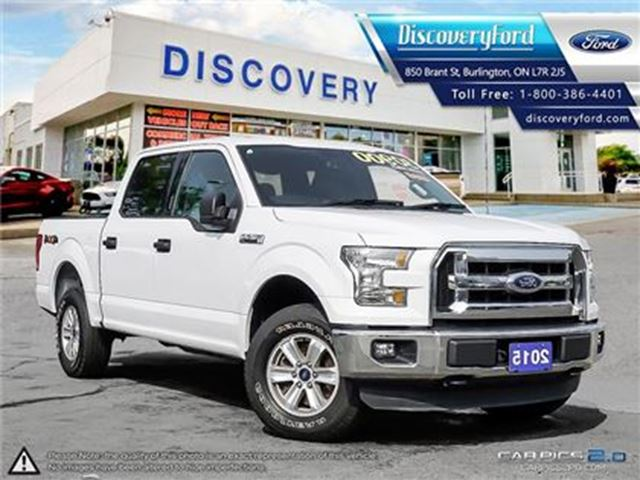 2015 FORD F-150 XLT SUPERCREW 4X4 in Burlington, Ontario