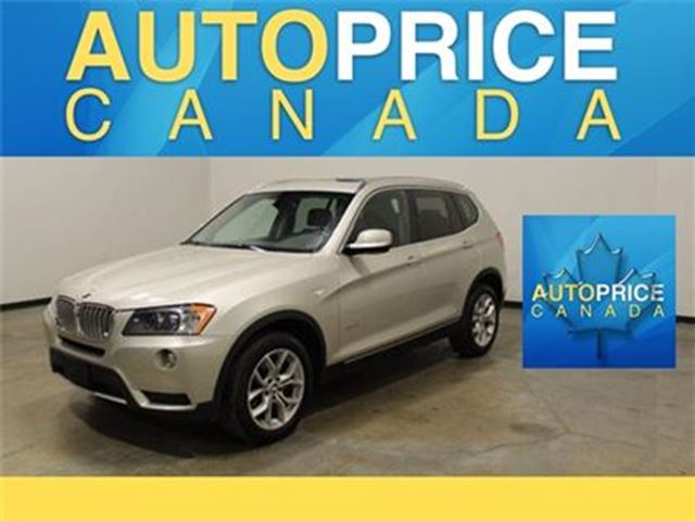 2014 BMW X3 NAVIGATION EXECUTIVE PKG PANOROOF in Mississauga, Ontario