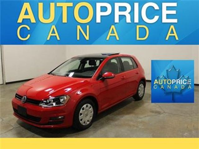 2015 Volkswagen Golf 2.0 TDI Highline LEATHER MOONROOF in Mississauga, Ontario