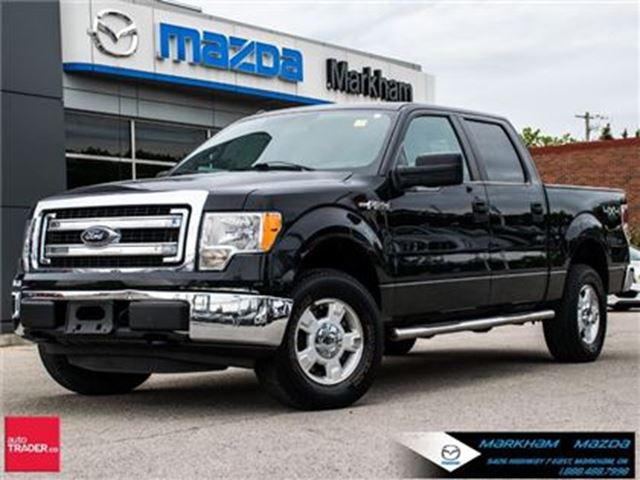 2013 Ford F-150 XLT LOCAL TRADE IN ACCIDENT FREE 4 X 4 in Markham, Ontario