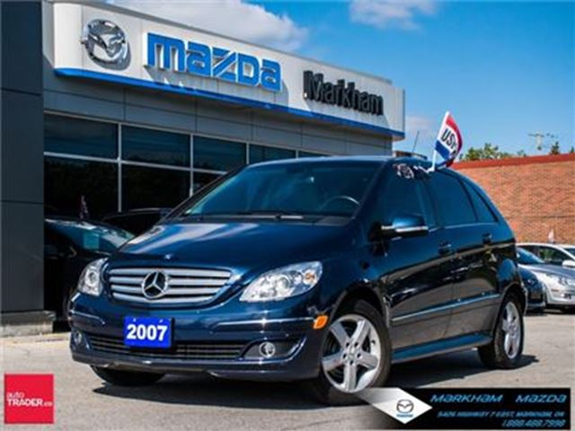 2007 Mercedes-Benz B-Class Base SUPER LOW MILEAGE !!!! in Markham, Ontario