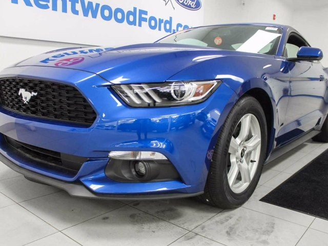 2017 Ford Mustang Mustang 3.7 V6 auto with back up cam and push start/stop in Edmonton, Alberta