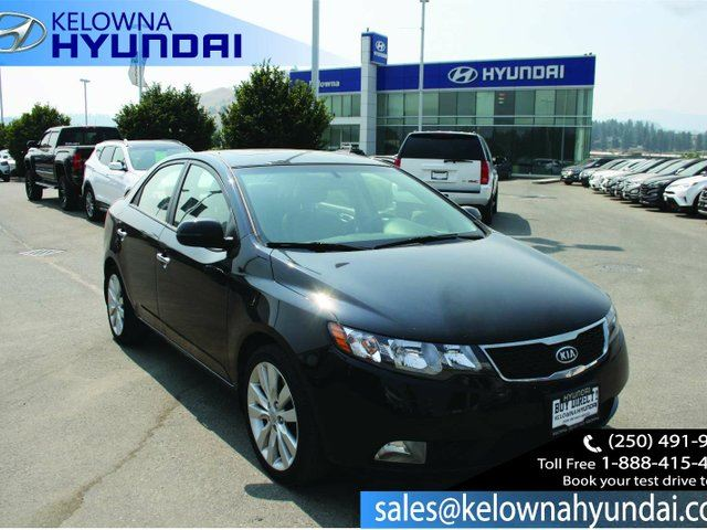 2011 KIA FORTE 2.4L SX 4dr Front-wheel Drive Leather Seats in Kelowna, British Columbia