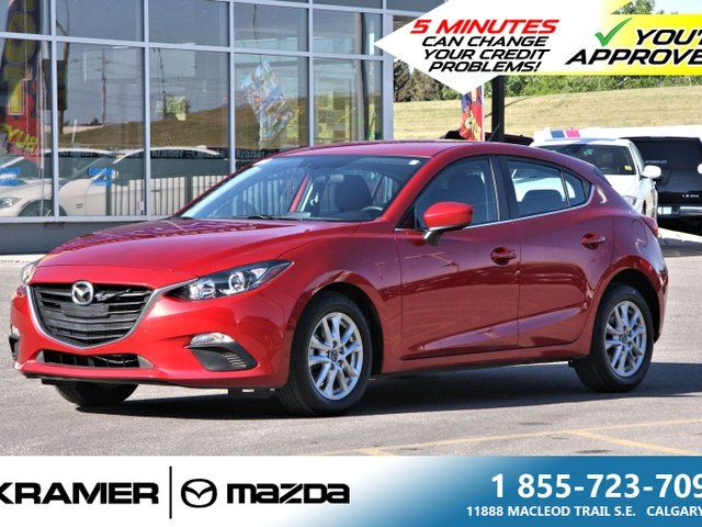 2016 MAZDA MAZDA3 GS w/Back-up Camera and Moonroof in Calgary, Alberta
