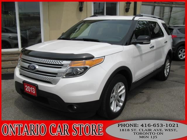 2013 FORD EXPLORER XLT 4WD NAVIGATION PANO.ROOF in Toronto, Ontario