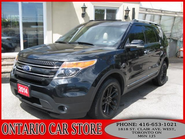 2014 FORD EXPLORER XLT 4WD NAVIGATION PANO.ROOF in Toronto, Ontario