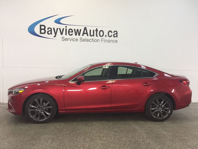 2016 MAZDA MAZDA6 GT- SUNROOF! NAV! LEATHER! BSA! ADAPTIVE CRUISE! in Belleville, Ontario