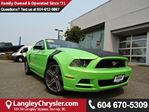 2014 Ford Mustang V6 Premium *ACCIDENT FREE*ONE OWNER*LOCAL BC CAR* in Surrey, British Columbia