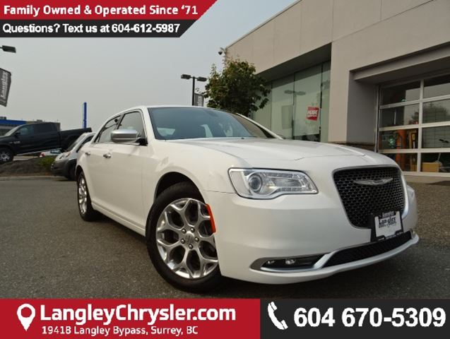 2017 CHRYSLER 300 C Platinum in Surrey, British Columbia