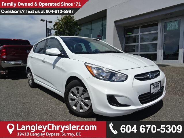 2016 HYUNDAI ACCENT SE in Surrey, British Columbia