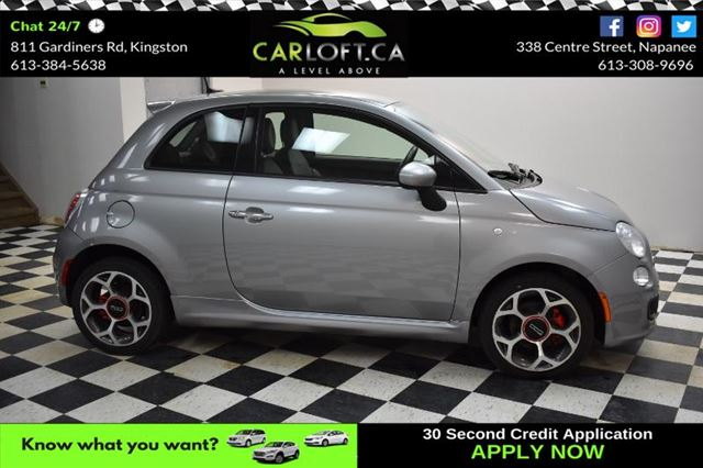 2016 FIAT 500 SPORT- LEATHER*BLUETOOTH*CRUISE in Kingston, Ontario