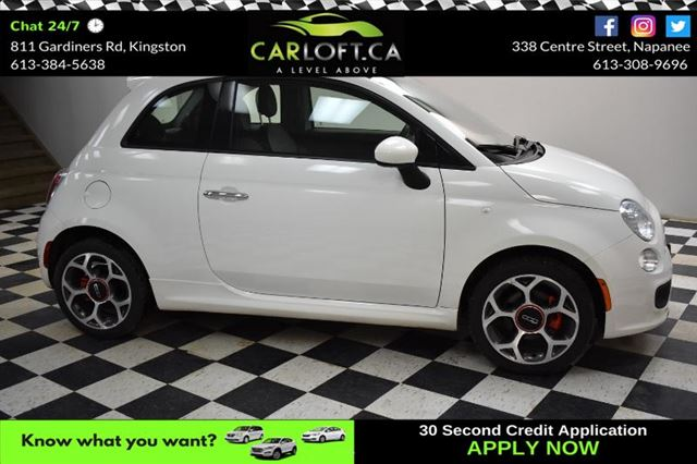 2016 FIAT 500 SPORT-BLUETOOTH* LEATHER*CRUISE CONTROL* in Kingston, Ontario