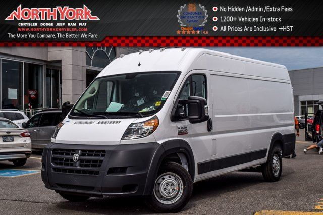 2017 RAM PROMASTER New Car High Roof Extended 159 Pkng_Sensors Backup_Cam  in Thornhill, Ontario