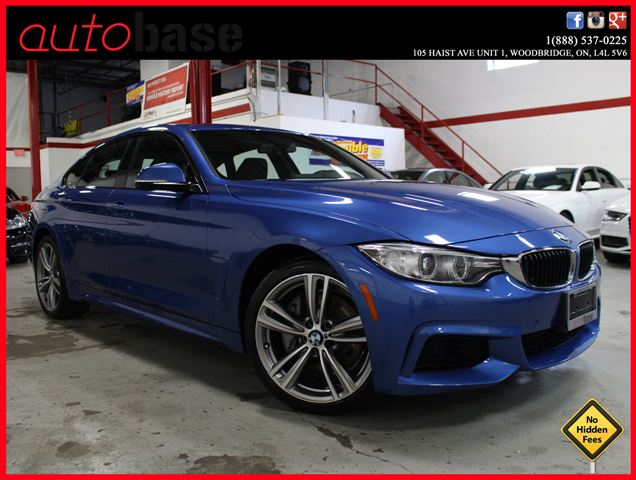 2015 BMW 4 Series 435i xDrive GranCoupe PREMIUM | CONNECTEDDRIVE in Woodbridge, Ontario
