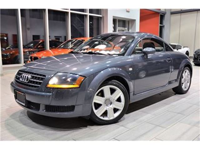 2003 AUDI TT 1.8L Turbo 6-Speed Manual Only 87.015 Kms! in Oakville, Ontario