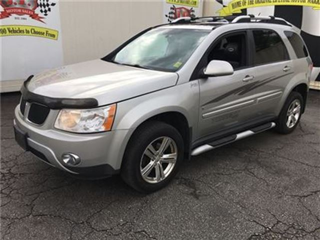 2008 PONTIAC TORRENT Automatic, Leather, Sunroof, AWD in Burlington, Ontario