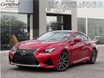 2016 Lexus RC F ** Performance Package ** 6505 km ** in Toronto, Ontario