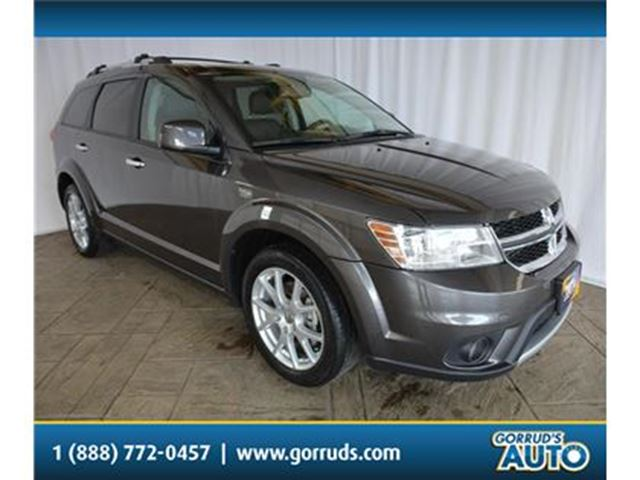 2015 DODGE Journey R/T/DVD/NAV/LEATHER/BLUETOOTH/CAMERA in Milton, Ontario