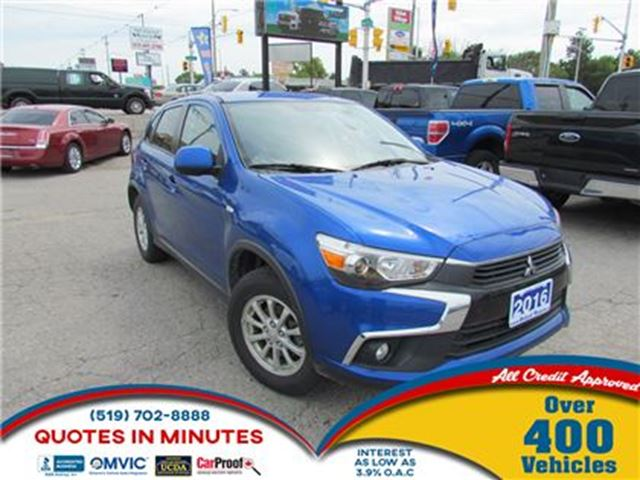 2016 MITSUBISHI RVR SE   AWD   BACKUP CAM   BLUETOOTH in London, Ontario