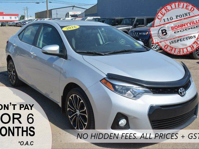 2016 TOYOTA COROLLA LOW KMS, GREAT CONDITION, BACKUP CAMERA AND MORE! in Bonnyville, Alberta