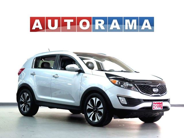 2011 Kia Sportage NAVIGATION BACK UP CAMERA LEATHER SUNROOF 4WD in North York, Ontario