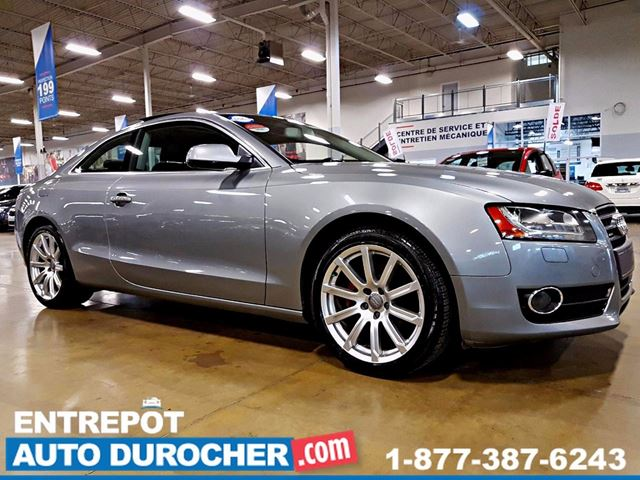 2010 AUDI A5 AIR CLIMATISn++ - CUIR - TOIT OUVRANT in Laval, Quebec