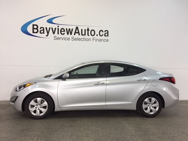 2016 HYUNDAI ELANTRA L- 6 SPEED! 1.8L! ECO MODE! PWR GROUP! in Belleville, Ontario