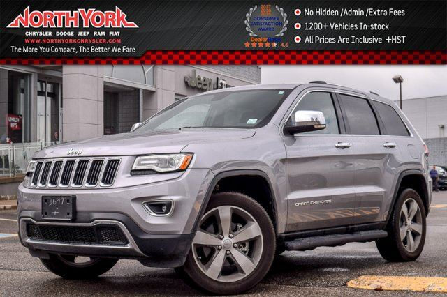 2016 Jeep Grand Cherokee Limited in Thornhill, Ontario