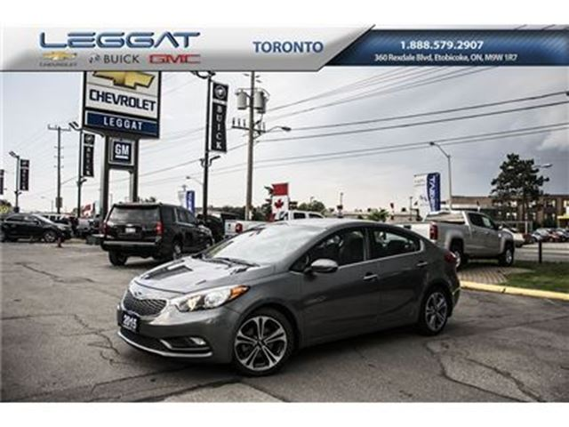 2015 KIA Forte 2.0L Compact car for compact price in Rexdale, Ontario