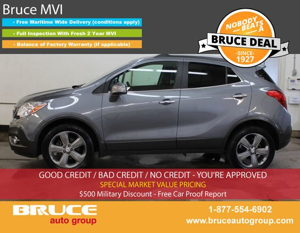 2013 BUICK ENCORE CX 1.4L 4 CYL TURBOCHARGED AUTOMATIC FWD in Middleton, Nova Scotia
