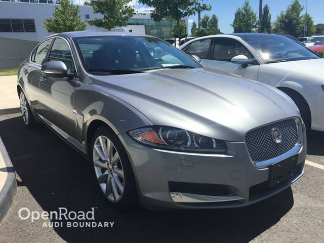 2014 JAGUAR XF 4dr Sdn V6 AWD in Vancouver, British Columbia