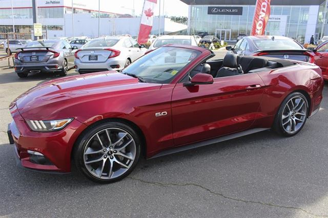 2016 FORD MUSTANG GT Premium Convertible Bluetooth in Victoria, British Columbia