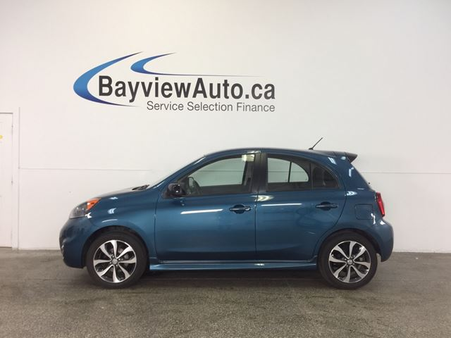 2015 NISSAN MICRA SR- PURE DRIVE! ALLOYS! A/C! REV CAM! CRUISE! in Belleville, Ontario