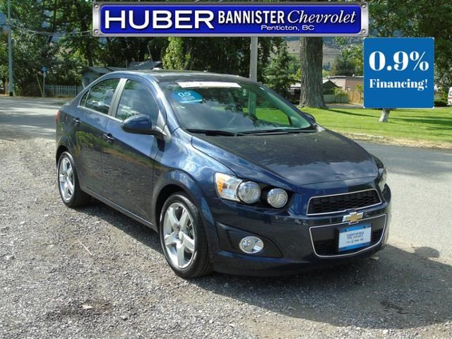 2016 Chevrolet Sonic LT in Penticton, British Columbia