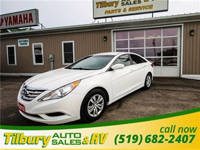 2012 HYUNDAI SONATA GLS (A6)**WEEKLY PAYMENTS AS LOW AS $45** in Tilbury, Ontario