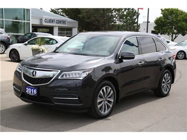 2016 ACURA MDX Navigation Package in London, Ontario