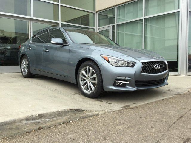 2014 INFINITI Q50 NAVIGATION/AWD/CLEAN CAR PROOF in Edmonton, Alberta