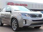 2015 Kia Sorento SX AWD, HEATED FRONT / BACK SEATS, COOLED SEATS, HEATED WHEEL, PANORAMIC SUNROOF, BACKUP CAM, NAVI, USB / AUX in Edmonton, Alberta