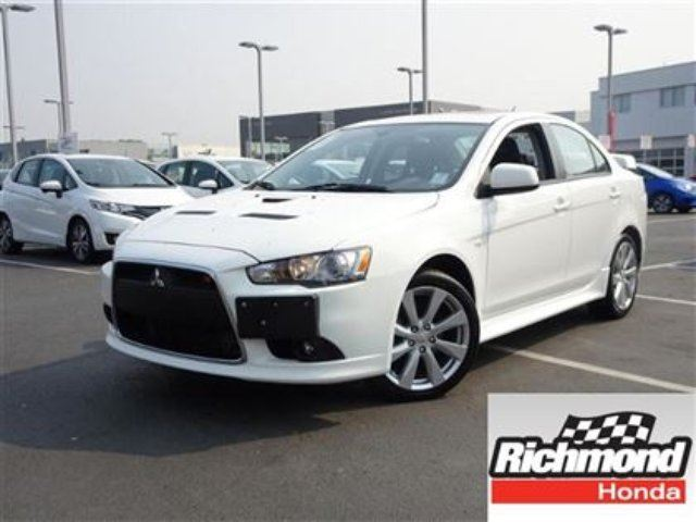 2014 MITSUBISHI LANCER Ralliart! Balance Of Factory Warranty! in Richmond, British Columbia