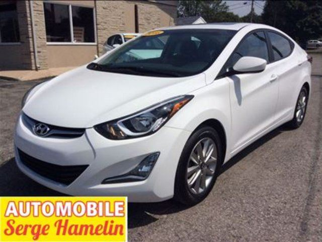 2016 Hyundai Elantra Sport Appearance toit mags camera recule in Chateauguay, Quebec