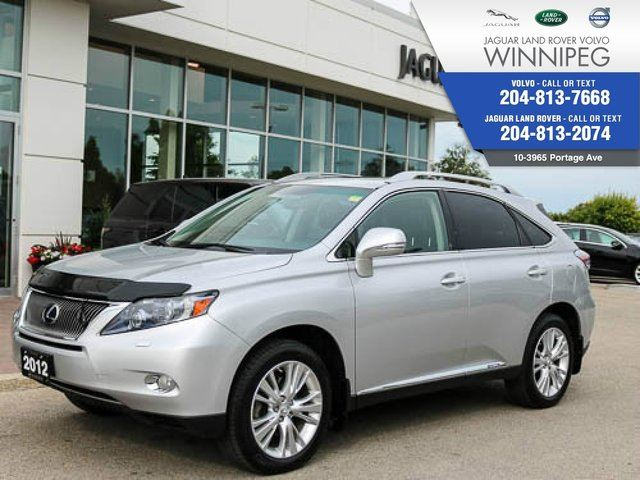 2012 LEXUS RX 450H AWD 4dr Hybrid *NAVIGATION* *WINTER TIRE PACKAGE in Winnipeg, Manitoba