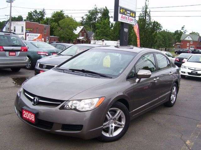 2008 ACURA CSX Leather,Sunroof,Auto,Cruise in Kitchener, Ontario
