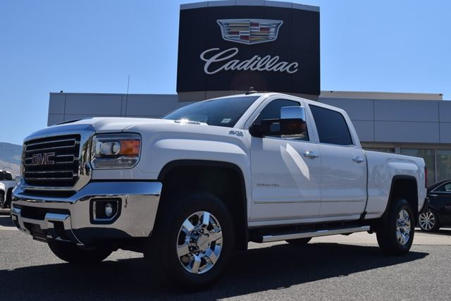 2017 GMC SIERRA 3500  SLT in Kelowna, British Columbia