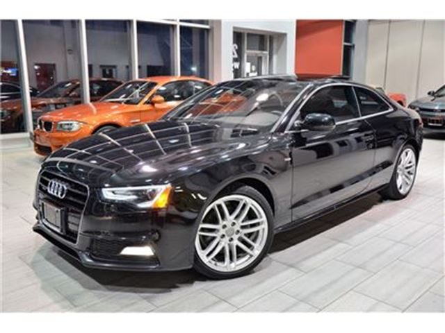 2015 AUDI A5 2.0T Technik Package With Only 46.284 Kms! in Oakville, Ontario