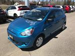 2015 Mitsubishi Mirage ES Very Low Mileage, Balance of 10 Year Warranty in Thunder Bay, Ontario