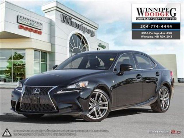 2014 LEXUS IS 250 Base in Winnipeg, Manitoba